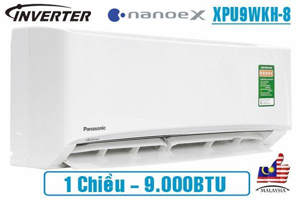 dieu hoa panasonic nanoex 9000btu 1 chieu inverter xpu9wkh 8