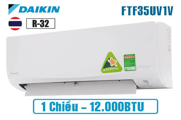 Điều hòa Daikin 1 chiều 12000BTU FTF35UV1V