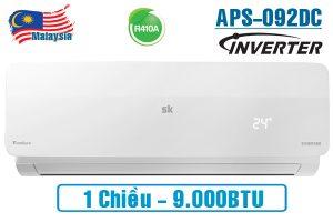 Điều hòa Sumikura 9000BTU  1 chiều inverter APS-APO-092 DC