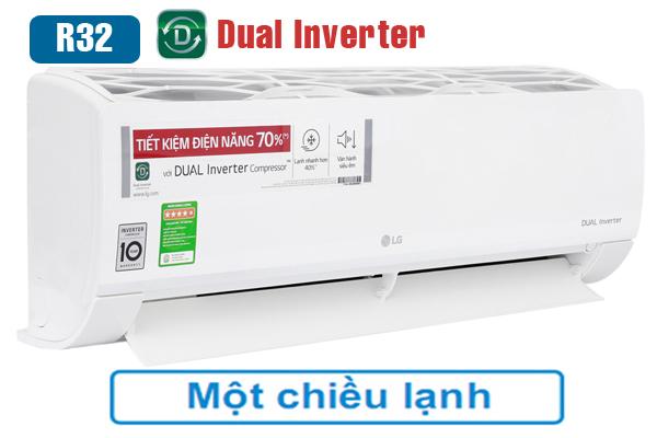 Điều hòa LG 1 chiều inverter 9000btu model V10ENW