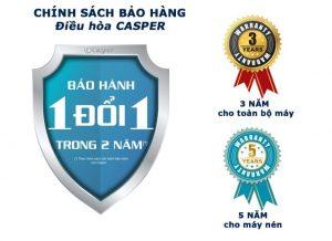 Chinh sach bao hanh dieu hoa Casper 1024x745 1