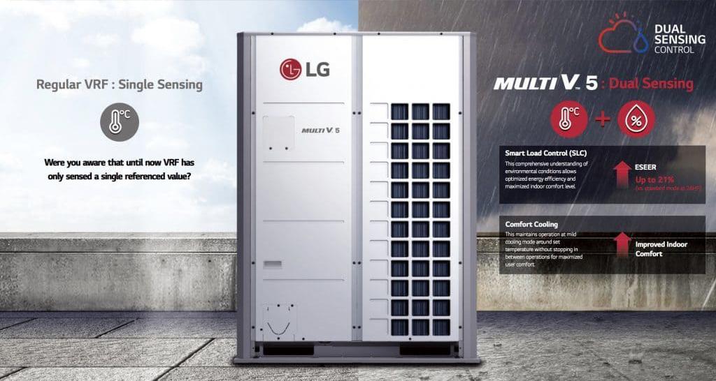 điều hòa trung tâm Lg multi V5