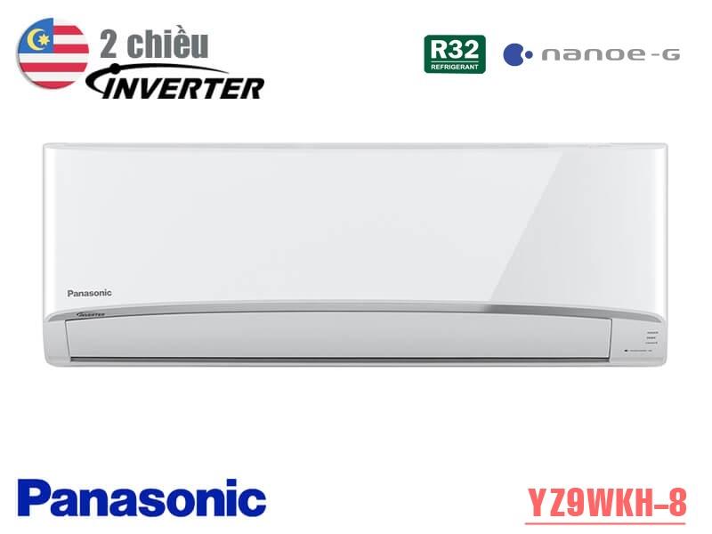 Điều hòa Panasonic 2 chiều Inverter 9000BTU YZ9WKH-8