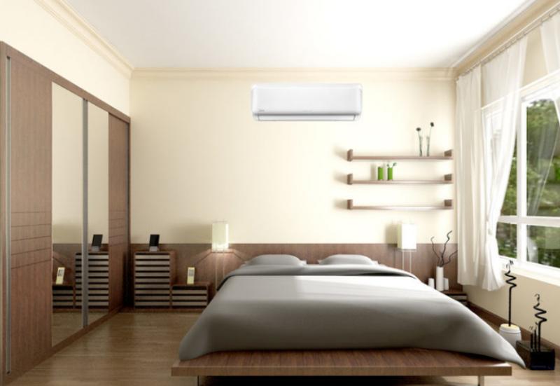 lắp đặt điều hòa trong phòng ngủ đúng cách