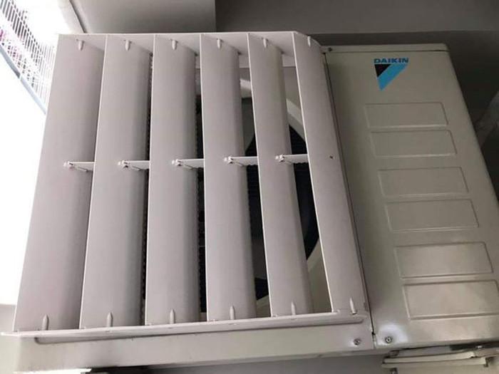 Phụ kiện chuyển hướng gió dàn nóng máy lạnh