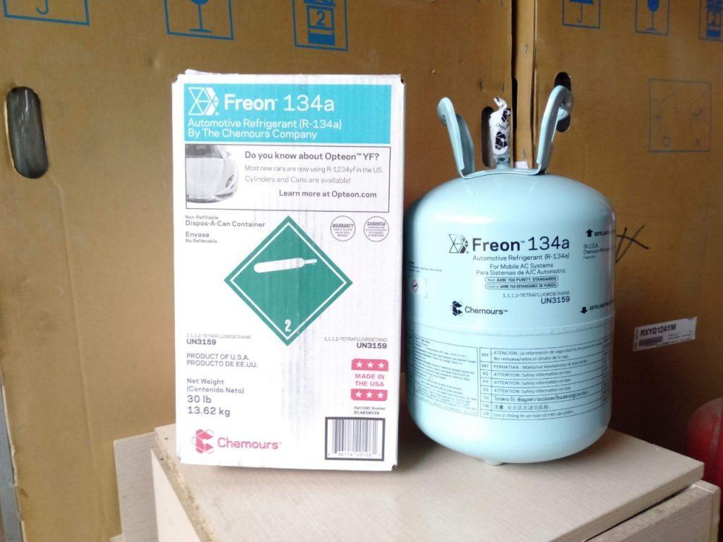 gas lạnh freon 134a