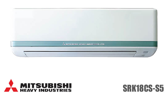 Điều hòa Mitsubishi Heavy 18000BTU 1 chiều SRK/SRC18CS-S5