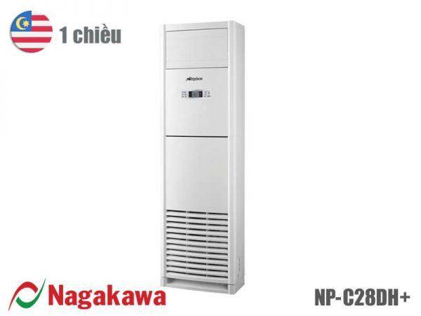 điều hòa tủ đứng 1 chiều Nagakawa 28000BTU NP-C28DH+