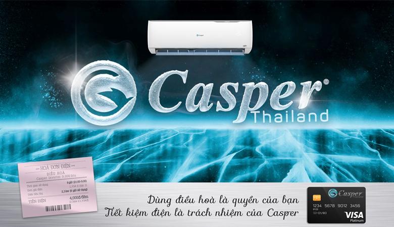 Điều hòa Casper IC12TL32 12000btu 1 chiều inverter