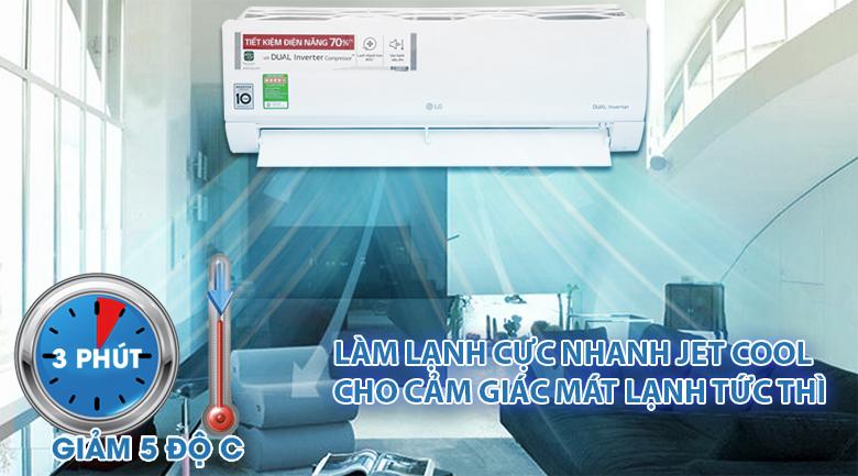 Có nên mua điều hòa LG V13ENS1 inverter 1 chiều 12000btu không?