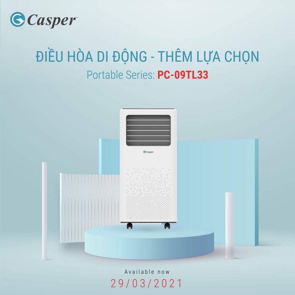 Điều hòa di động Casper PC-09TL33