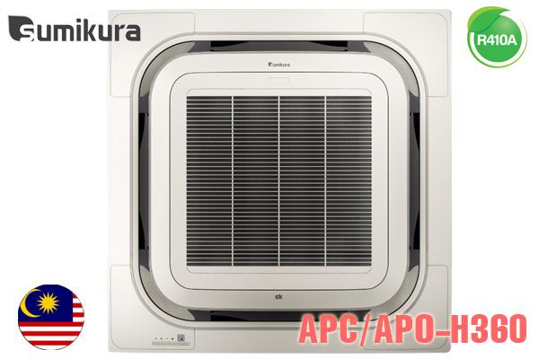 Điều hòa âm trần Sumikura 36000BTU 2 Chiều APC/APO-H360/8W-A
