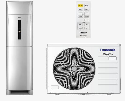Điều hòa tủ đứng Panasonic 28000BTU 2 chiều CU/CS-E28NFQ