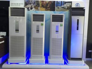 Điều hòa tủ đứng Panasonic 28000BTU 1 chiều CU/CS-C28FFH