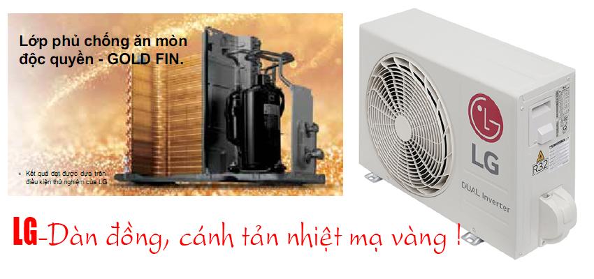 Điều Hòa LG V10ENW1 Inverter 9000BTU 1 Chiều Model 2021