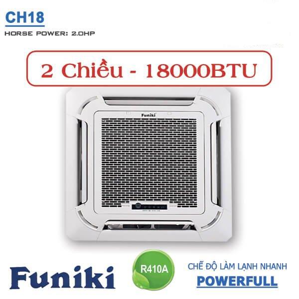 Điều hòa âm trần Funiki 18000BTU 2 Chiều CH18